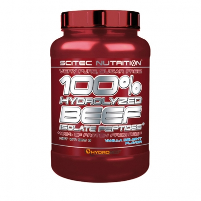 Scitec Nutrition 100% Hydro Beef Peptides, 900 g