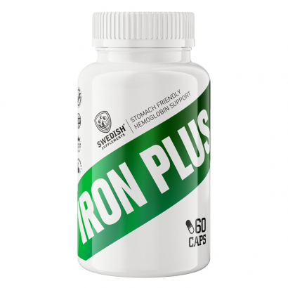 Swedish Supplements Iron Plus 90caps i gruppen Vitaminer / Mineraler / Mineraler hos Proteinbolaget.se (PB-5661)