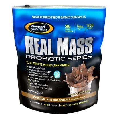 Gaspari Nutrition Real Mass, 5,4 kg