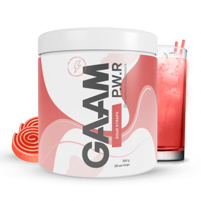 GAAM Nutrition Candy Series P.W.R 360g i gruppen Prestationshöjare / PWO hos Proteinbolaget.se (PB-6006)