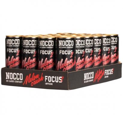 24 x NOCCO FOCUS 2, 330 ml, Melon Crush