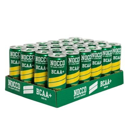 24 x NOCCO BCAA +, 330 ml, Citrus/Fläder