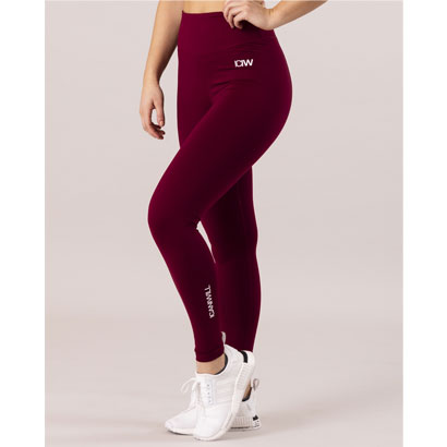 ICANIWILL Scrunch Tights Maroon