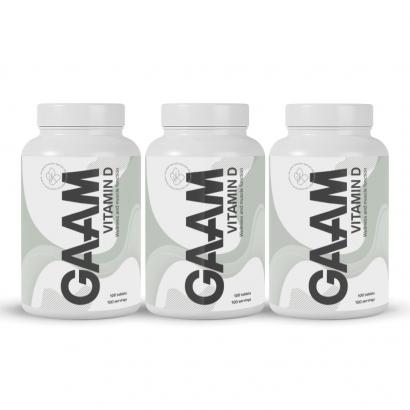 GAAM Nutrition Health Series Vitamin-D, 300 caps