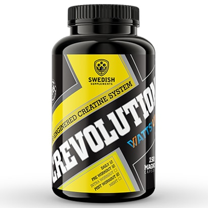Swedish Supplements Crevolution Magnum WattsUp, 150 caps