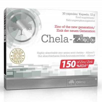 Olimp Chela-Zinc, 30 caps