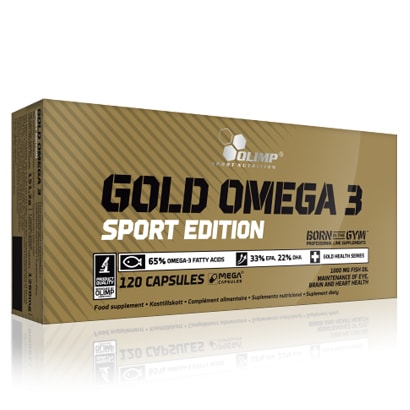Olimp Gold Omega-3 Sport Edition, 120 caps