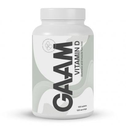 GAAM Nutrition Health Series Vitamin-D, 100 caps