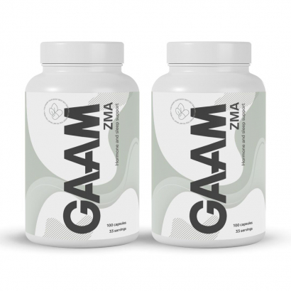GAAM Nutrition Health Series ZMA, 200 caps