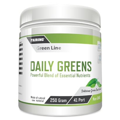 Fairing Daily greens, 250 g