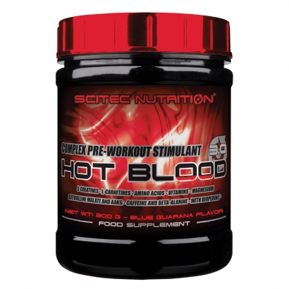 Scitec Nutrition Hot Blood 3.0, 300 g