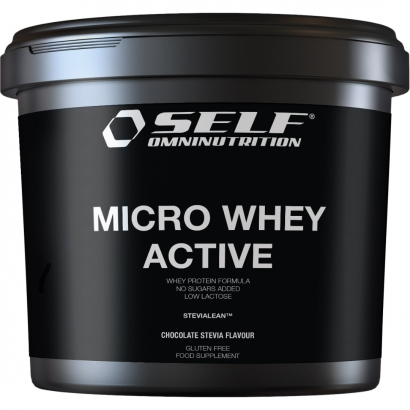 Self Omninutrition Micro Whey Active Stevia, 4 kg