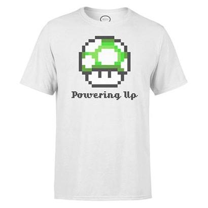 NINTENDO T-Shirt Powering UP