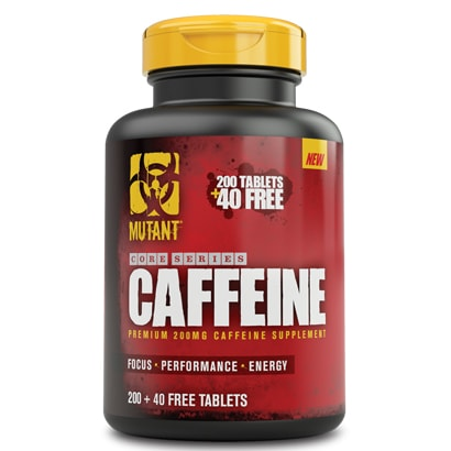 Mutant Nutrition Caffeine, 240 tabs