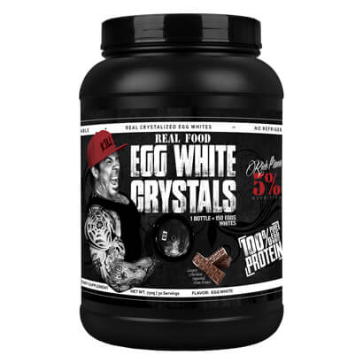 Rich Piana 5% Nutrition Real Food Egg White Crystals, 750 g