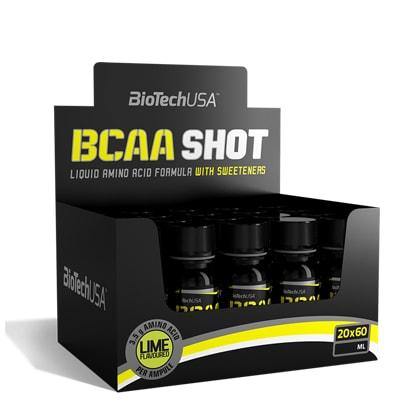 20 x BioTechUSA BCAA Shot, 60 ml