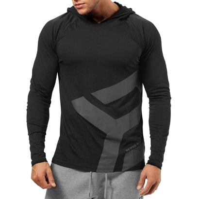 ae672bf54e5 Better Bodies Astor LS Hoodie Black - Proteinbolaget.se