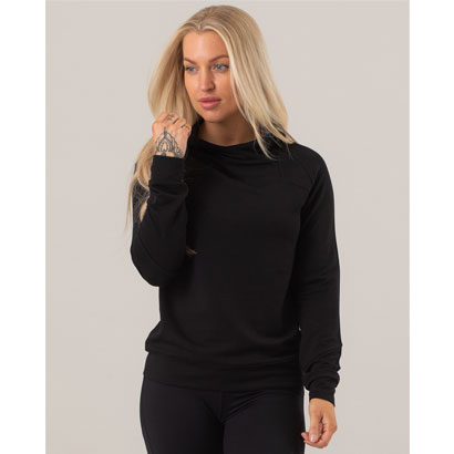 ICANIWILL Soft Hoodie, Black