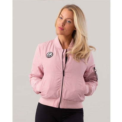 ICANIWILL Bomber Jacket, Dusty Pink