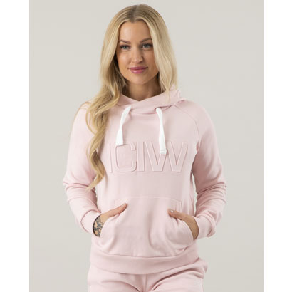 ICANIWILL 3D Hoodie, Dusty Pink