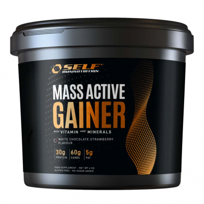 Self Omninutrition Active Whey Gainer, 4 kg