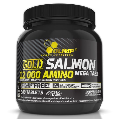 Olimp Gold Salmon 12000 Amino Mega tabs, 300 caps
