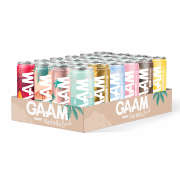 24 x GAAM Nutrition Functional Drink/ BCAA Drink, 330 ml