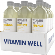 12 x Vitamin Well Defence Citrus Fläder, 500ml