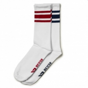 Better Bodies Brooklyn Socks Navy/Red