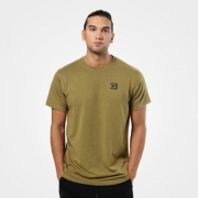 Better Bodies Harlem Oversize Tee Military Green