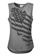 Better Bodies Street Tank Smoke Grey
