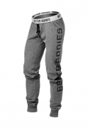 Better Bodies Slim Sweatpant Antracite Melange