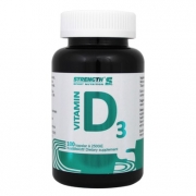 Strength Sport Nutrition D-Vitamin 100 kapslar