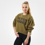 Better Bodies Chelsea Sweater Military Green