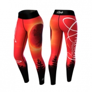 Anarchy Apparel Blood Moon Legging Red/Black