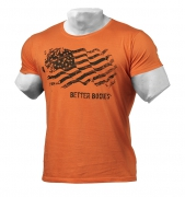 Better Bodies Street Tee Wash Orange