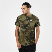 Better Bodies Harlem Oversize Tee Military Camo