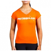 Proteinbolaget Logo Girl T-shirt, Orange