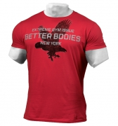 Better Bodies Front Printed Tee Jester Red