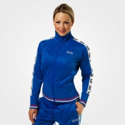 Better Bodies Trinity Track Jacket Strong Blue