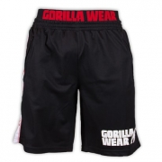 Gorilla Wear California Mesh Shorts, black/red