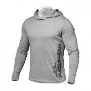 Better Bodies Mens Soft Hoodie Greymelange