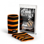 Power Elbow Sleeves, Black/Flame