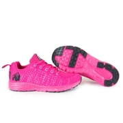 Gorilla Wear Brooklyn Knitted Sneakers, pink/white