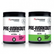 2 x Nutramino +Pro Pre-Workout Powder