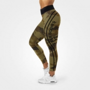 Better Bodies Camo High Tights Green Camo