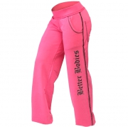 Better Bodies Women's Baggy Soft Pant, Hot Pink