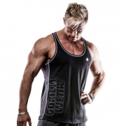 Gorilla Wear Dunellen Tank Top Black/Grey