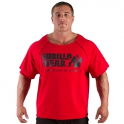 Gorilla Wear Classic Workout Top Red