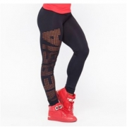 NEBBIA Laser Cut Tights Black